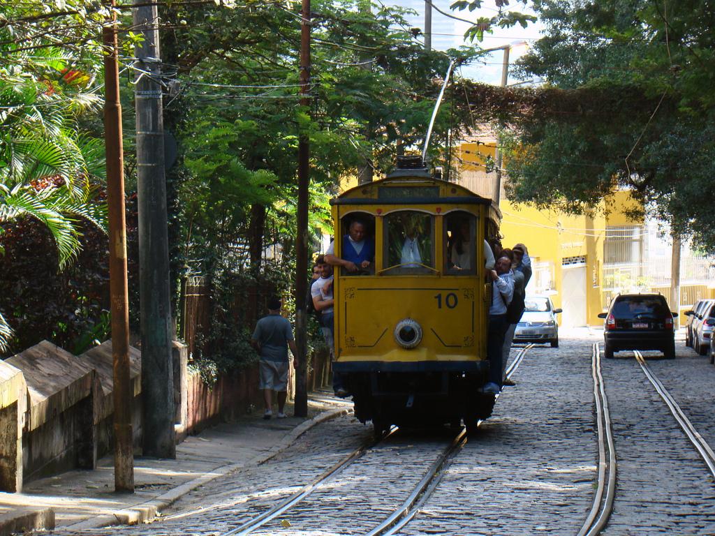 Tramway Rio de Janeiro - Brésil Aventure