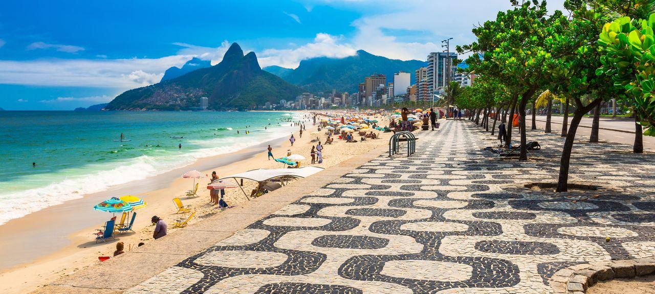 Plage ipanema - Brésil Aventure